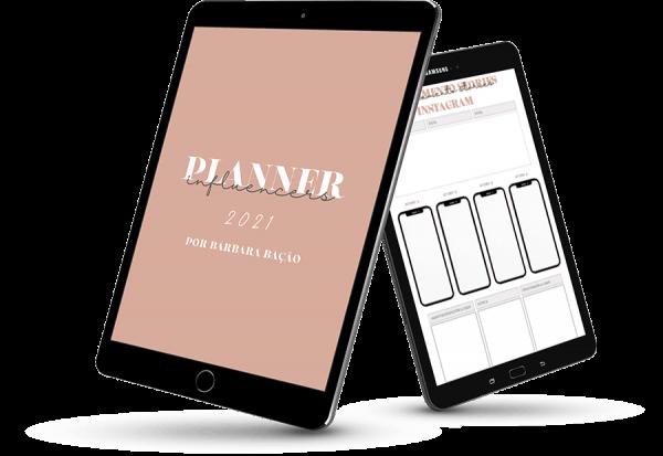 Planner para Influencers 2021 Bárbara Bação