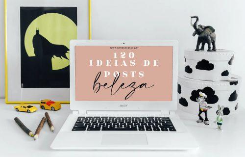 20 ideias de posts de beleza (2021)