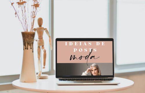 20 ideias de posts de moda (2021)